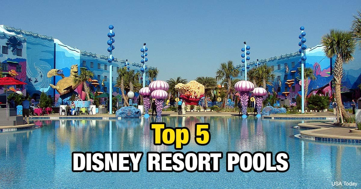 Top 5 Disney World Resort Pools Get Your Splash On