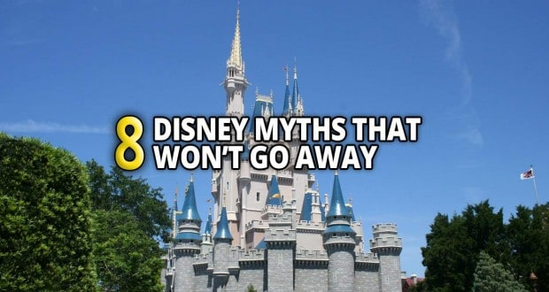 8 Disney Myths