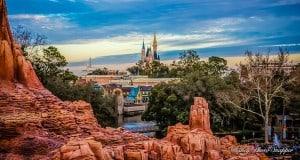 Cinderella Castle Distance
