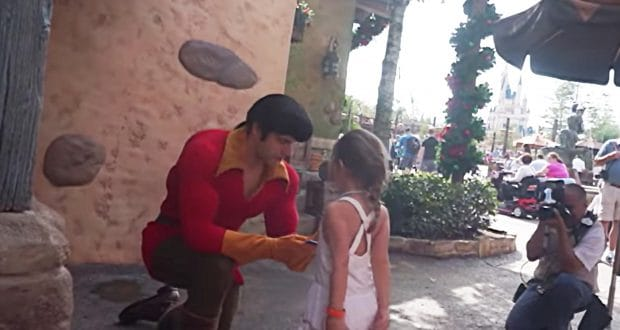 gaston _ meet and greet _ disney world