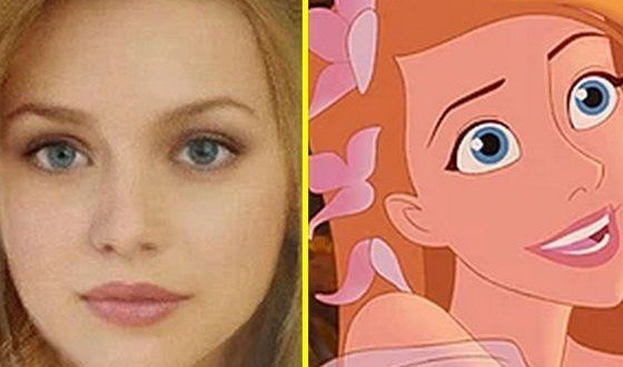 What Would Your Favorite Disney Characters Look Like In Real Life?