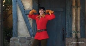 Gaston _ character meet _ disney world _ magic kingdom