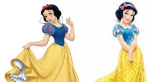 Updated Vs New Disney Princesses