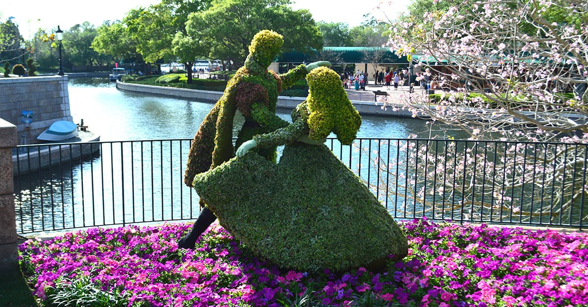 Epcot International Flower Garden Festival Expands To 90 Days In 2016