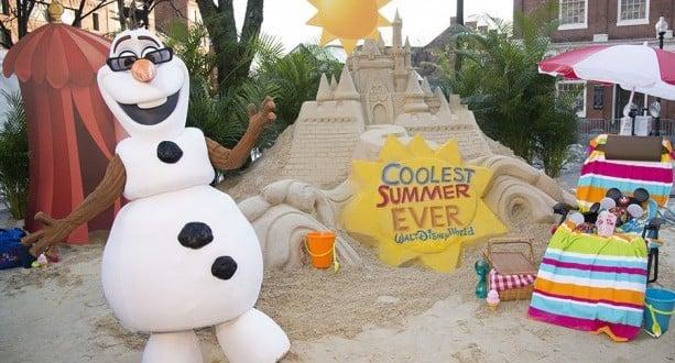 Olaf Kicks Off Summer
