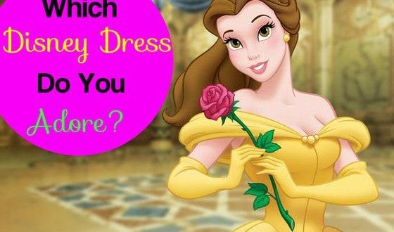 Which Disney Dress Do You Adore?