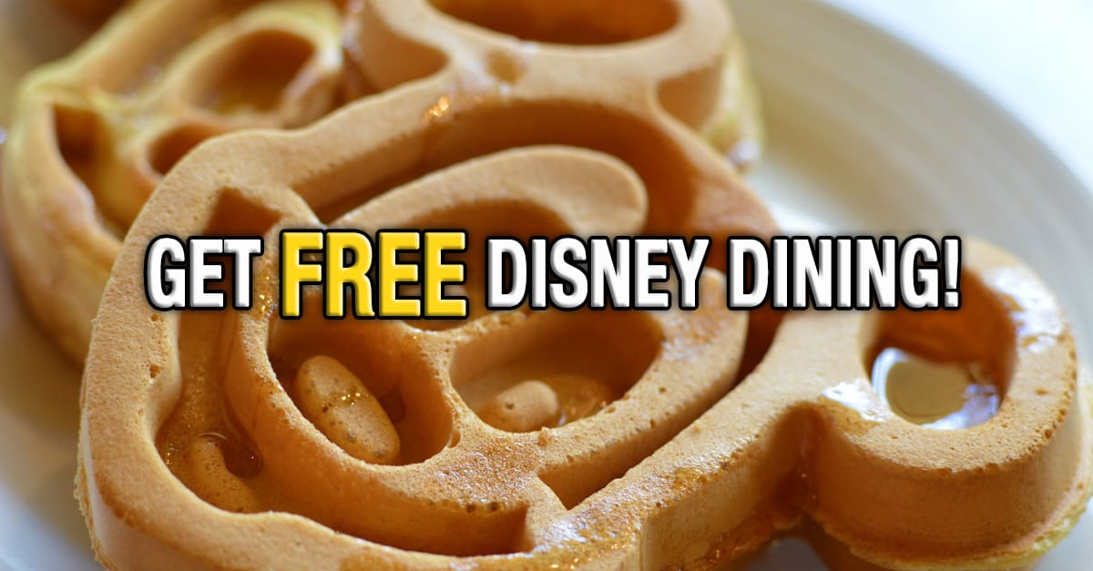 Breaking news disney announces free dining How to get free dining at disney