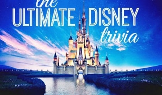Ultimate Disney Trivia Quiz
