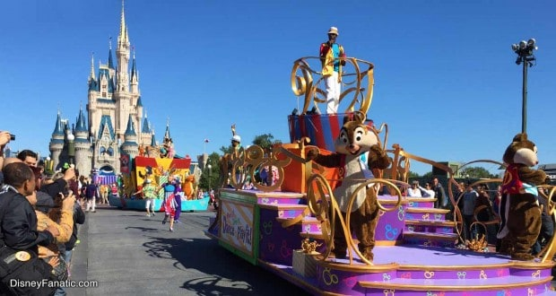 Disney Castle Parade