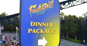 Fantasmic Dinner Package