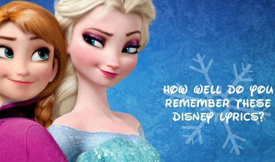 How Well Do You Remember These Disney Lyrics?