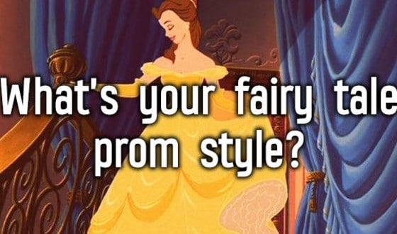 What's Your Fairytale Prom Style?