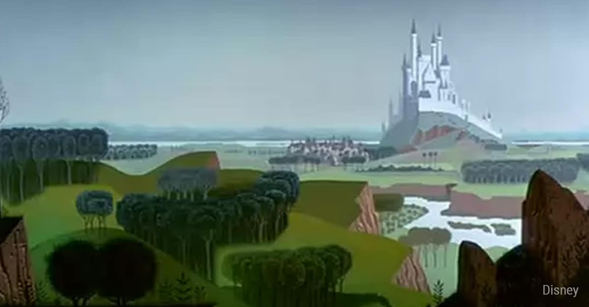 can you match the disney castle with the movie