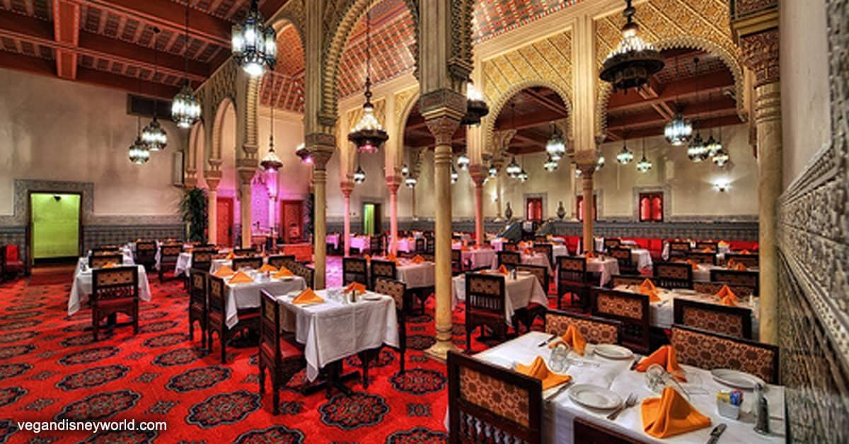 Restaurant Marrakesh Epcot Menu