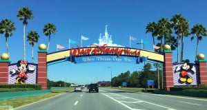 WDW Sign