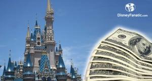 Disney Castle with money