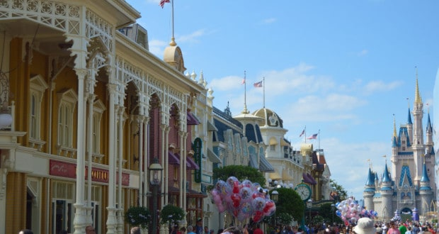Castle and Main St. USA