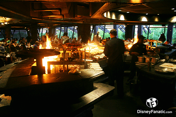 Polynesian Resort Ohana's Grill