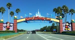 Walt Disney World Sign