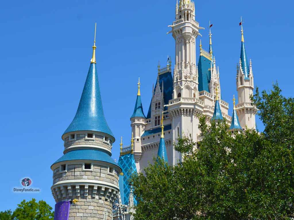 Walt Disney World Resort - Magic Kingdom - View of Cinderella Castle Closeup