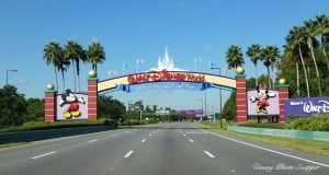 Walt Disney World Sign _ last day at disney