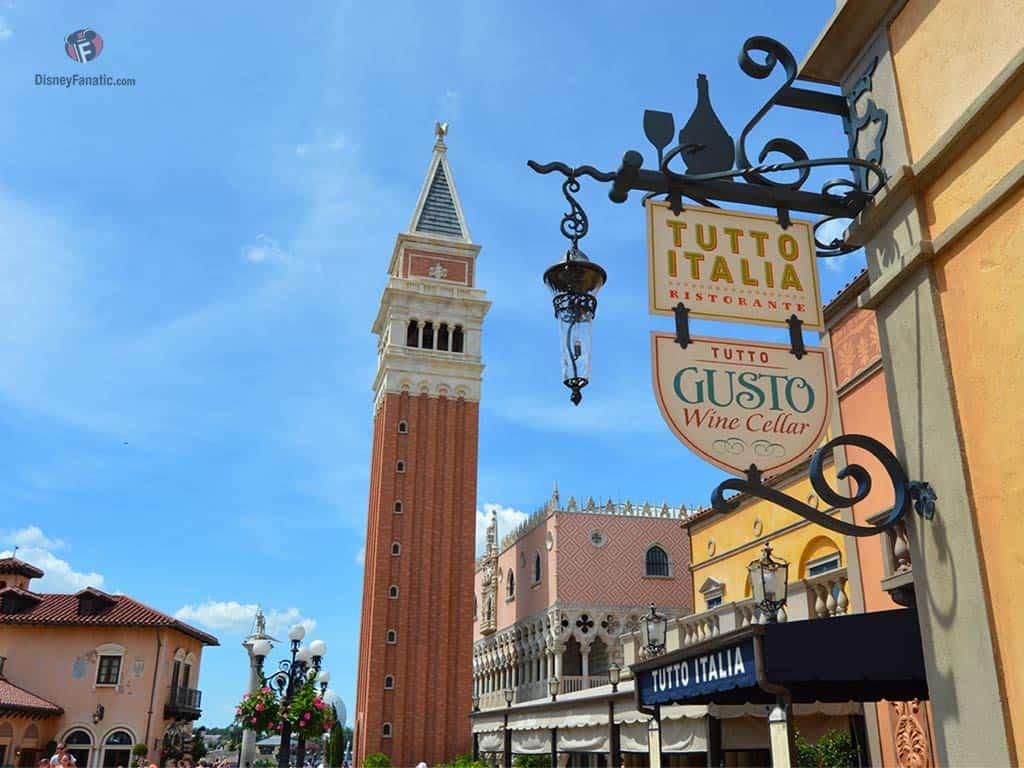 Walt Disney World Resort - Italy Pavilion, Epcot's World Showcase