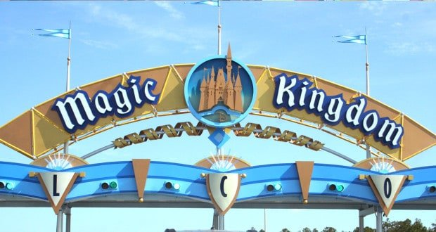 Magic Kingdom Sign