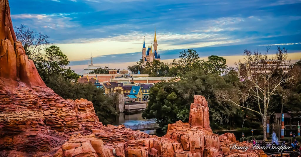 Castle and frontierland