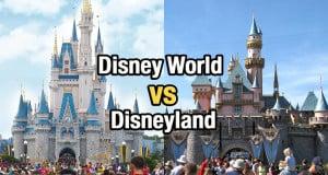 Disney World vs. Disneyland