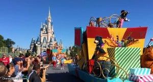 Disney Castle and Parade