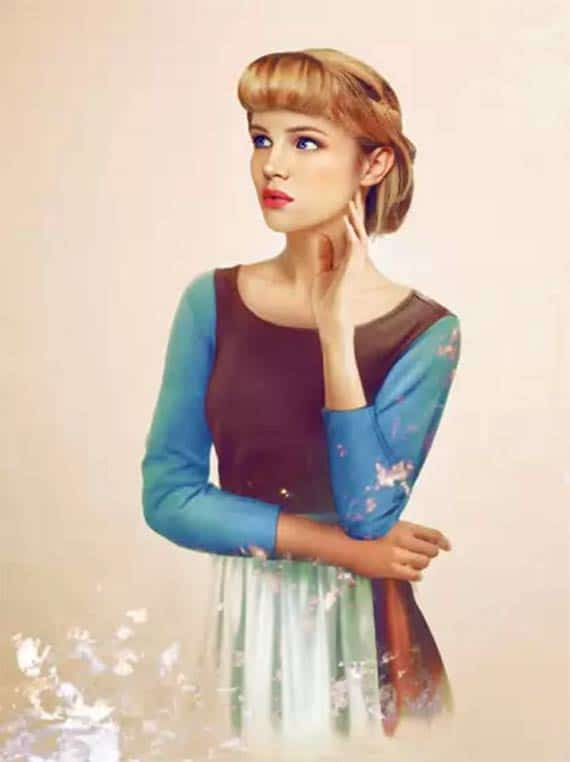 What Disney Heroines Would Look Like In Real Life – Cinderella ...