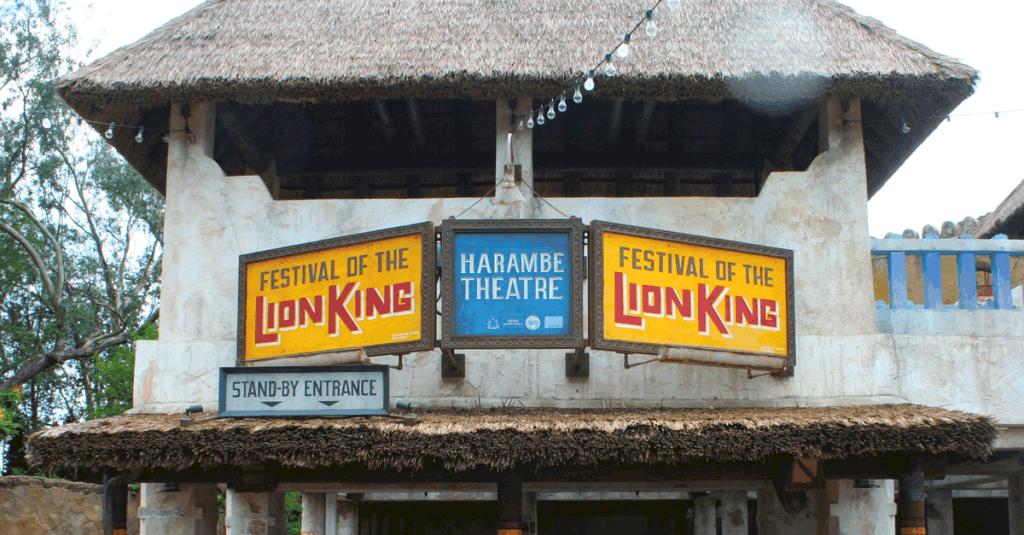 Lion King Sign