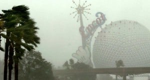 Epcot Rain