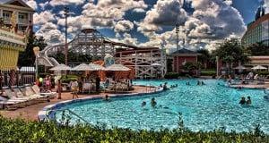 Pool Boardwalk