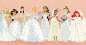 Disney wedding dress