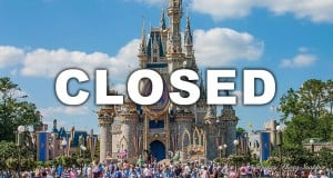 Disney Castle Closed