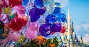 Disney Castle Balloons