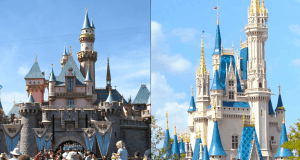 Disney World and Disneyland