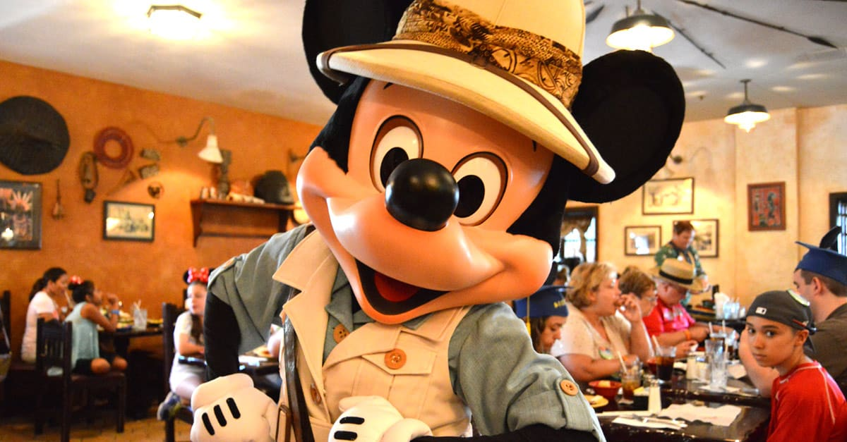 Mickey Mouse Tusker House