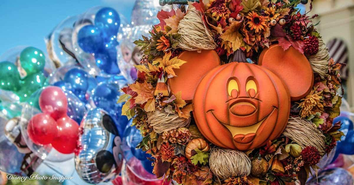 Halloween at Disney World Resort