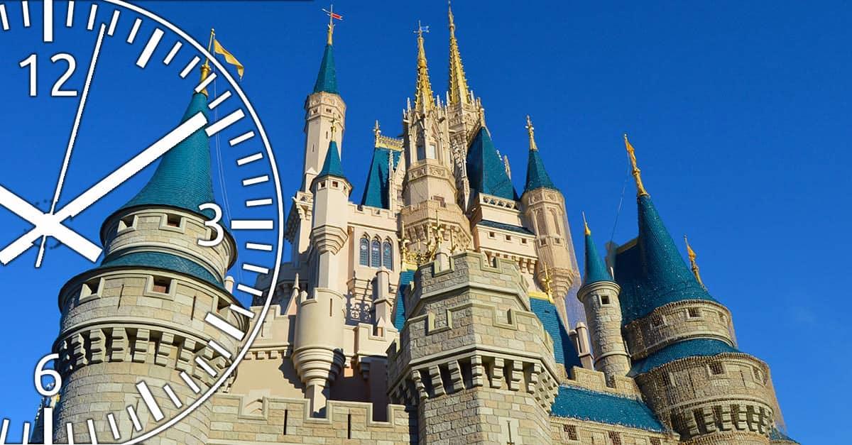 Cinderella's Castle with Clock