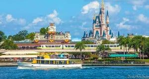 Castle, Boat, Monorail
