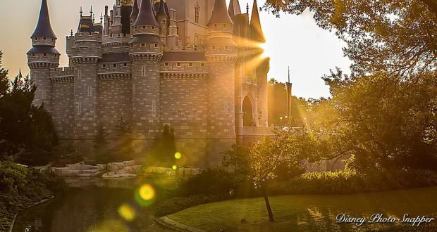 Disney Castle Sunrise