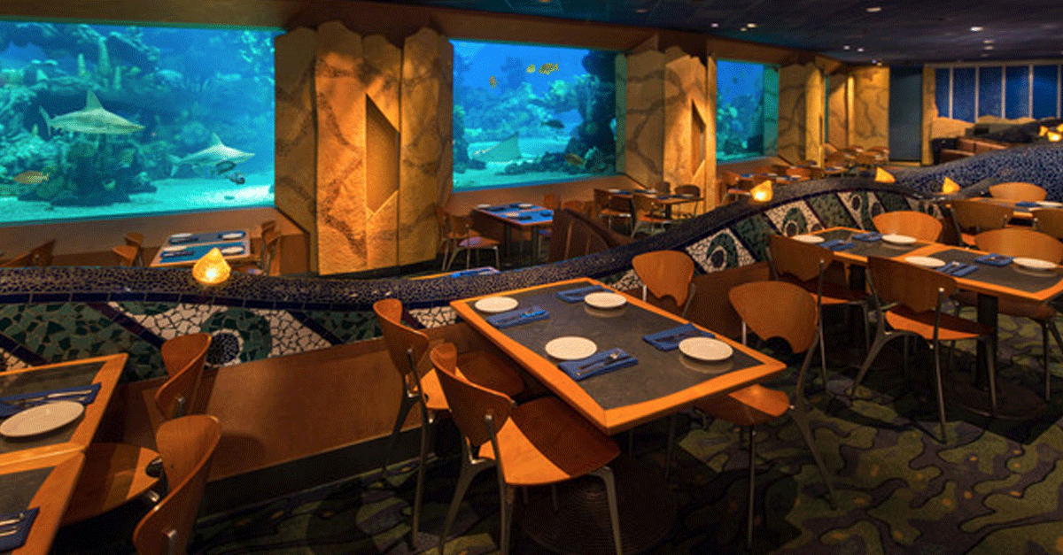 10 Things We Love About Epcot S Coral Reef Restaurant