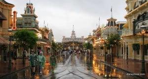 Disney World Rain