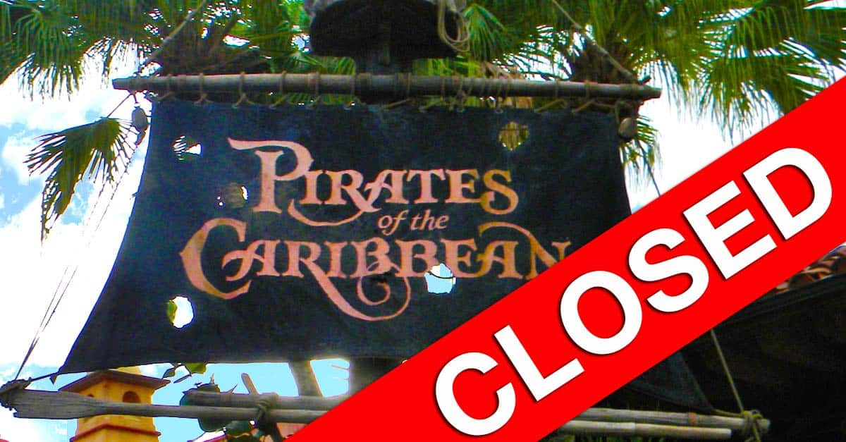Pirates of the Caribbean Closed