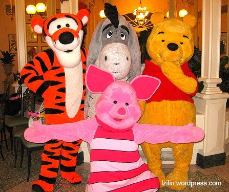 Winnie The Pooh - Crystal Palace
