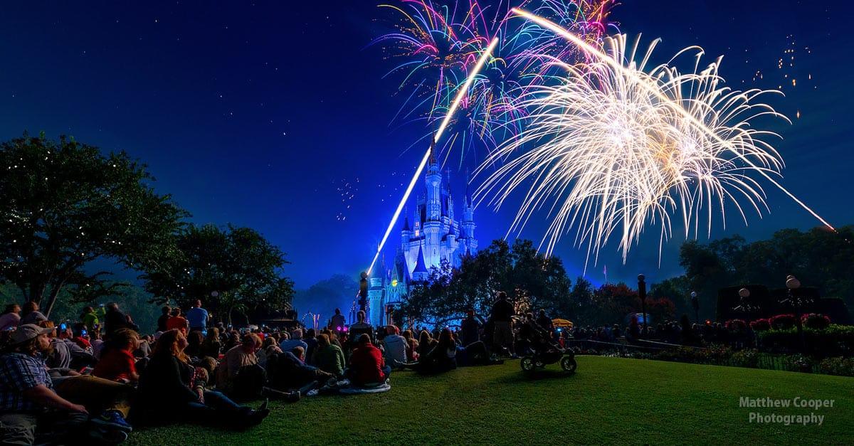 Cinderella Castle Night Fireworks