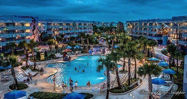 Resort Pool Disney World