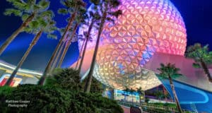 Epcot Night